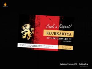 Budapest Honvéd Fc - klubkártya
