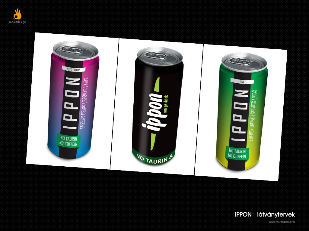Ippon - energiaital csomagolás