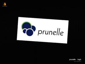 Prunelle - logó tervezés