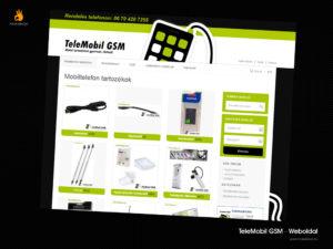 Telemobilgsm - weblaptervezés