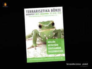 Terrarisztika bőrze - plakát