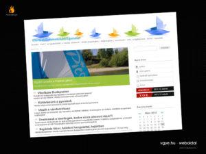 VGYE - weblaptervezés